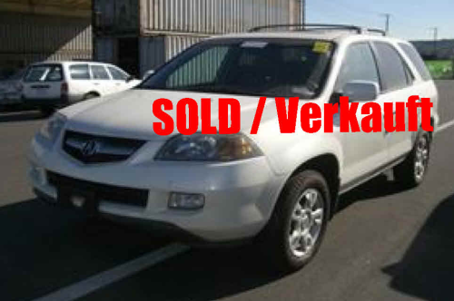 04 - TBD ACURA MDX 4X4*SOLD