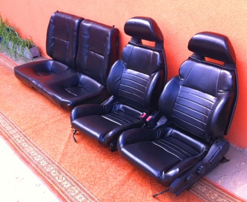 LEATHER SEATS Celica GT-FOUR MK5 ST185 / Leder Sitz Garnitur Celica Turbo 4x4