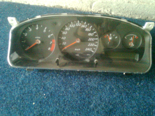 Instrument Cluster 240 km/h