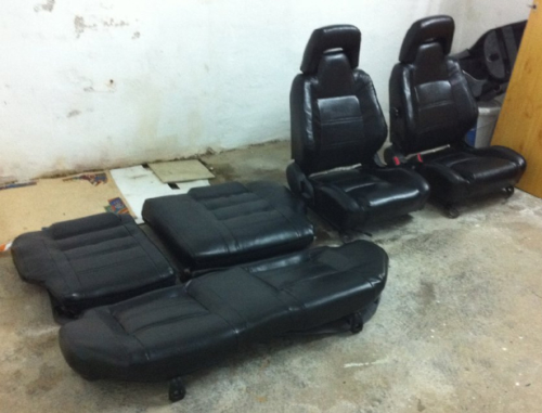 LEATHER SEATS / Leder Sitz Garnitur AE86