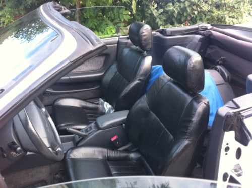 LEATHER SEATS CVT Sti / Leder Sitz Garnitur Celica Cabrio Sti
