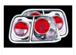 CHROME LEXUS TAIL LIGHTS