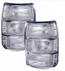 257,40TAIL LIGHTS - CLEAR
