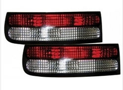 TAIL LIGHTS - CRYSTAL RED/CLEAR