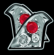CHROME DESIGN TAIL LIGHTS