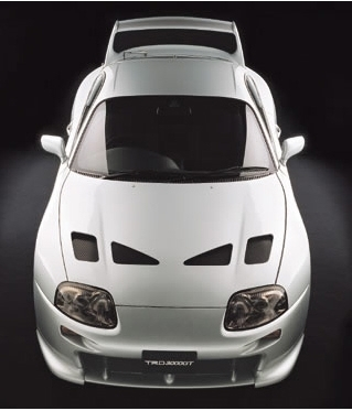 TRD 3000GT Racing Aero Cowl, Wide Body Kit
