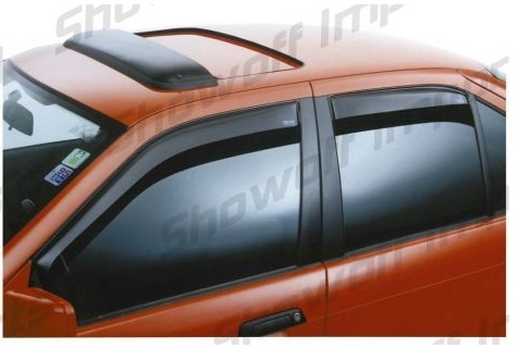 Honda Civic IMA 04-05 4D ClimAir Window Visors Front Set
