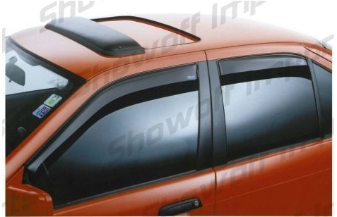 Honda CR-V 07+ 5D ClimAir Window Visors Front Set