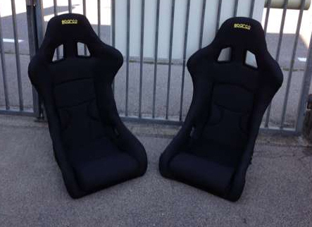 SPARCO Full Bucket SET / Vollschalensitz SET SPARCO